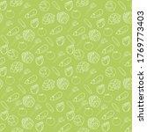 vector illustration vegetables... | Shutterstock .eps vector #1769773403