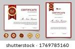 certificate of appreciation... | Shutterstock .eps vector #1769785160