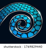 abstract background  3d spiral...   Shutterstock .eps vector #1769829440