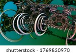 abstract background  fantastic...   Shutterstock . vector #1769830970