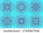italian ceramic tile pattern....   Shutterstock .eps vector #1769867936
