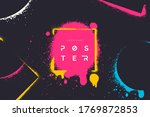 abstract vector background with ... | Shutterstock .eps vector #1769872853