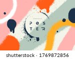 abstract vector background with ... | Shutterstock .eps vector #1769872856