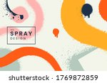 abstract vector background with ... | Shutterstock .eps vector #1769872859