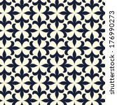 ornamental seamless pattern.... | Shutterstock .eps vector #176990273