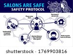 safety protocol infographic ... | Shutterstock .eps vector #1769903816