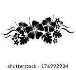 abstract floral composition for ... | Shutterstock . vector #176992934