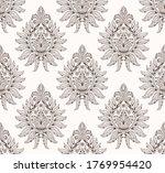 damask seamless pattern element.... | Shutterstock .eps vector #1769954420
