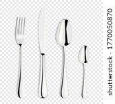 vector 3d realistic metal ... | Shutterstock .eps vector #1770050870