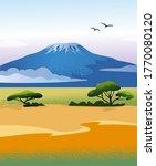 Amboseli National Park. African ...
