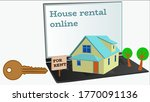 Renting A House Online. The...