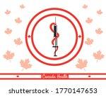 Canada Flag And Canada Health