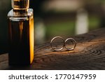 Two Wedding Engagement Rings O...
