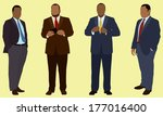 african american business men | Shutterstock .eps vector #177016400