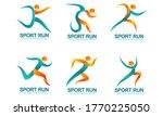 set of sports logos  running... | Shutterstock .eps vector #1770225050