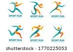 set of sports logos  running... | Shutterstock .eps vector #1770225053