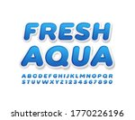vector eco concept fresh aqua... | Shutterstock .eps vector #1770226196