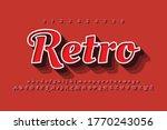 modern styled 3d trendy set of... | Shutterstock .eps vector #1770243056