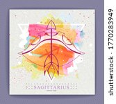 modern magic witchcraft card... | Shutterstock .eps vector #1770283949
