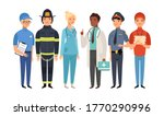 essential workers. isolated...   Shutterstock .eps vector #1770290996