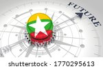 business concept. abstract... | Shutterstock . vector #1770295613