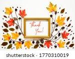 Colorful Autumn Leaf Decoration ...