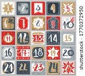 december advent calendar.... | Shutterstock .eps vector #1770372950