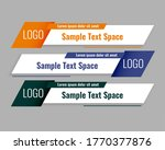 modern style lower third... | Shutterstock .eps vector #1770377876