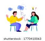 psychotherapy practice... | Shutterstock .eps vector #1770410063