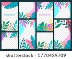 story design template set for... | Shutterstock .eps vector #1770439709