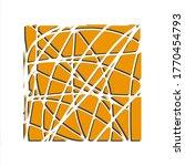 yellowish shodowed art... | Shutterstock . vector #1770454793