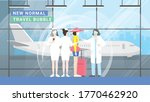 travel bubble concept. after... | Shutterstock .eps vector #1770462920