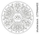 Coloring Page Mandala For Kids...