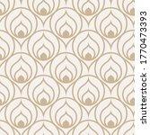 continuous ramadan vector 1920s ... | Shutterstock .eps vector #1770473393