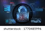 cyber security concept....   Shutterstock . vector #1770485996