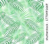 tropical pattern seamless... | Shutterstock .eps vector #1770491669