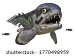 Prehistoric Fish Rhizodus...