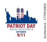 patriot day illustration. we... | Shutterstock .eps vector #1770510833