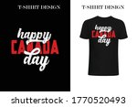 happy canada day t shirt design.... | Shutterstock .eps vector #1770520493