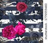 floral vintage seamless pattern.... | Shutterstock .eps vector #1770555683