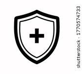 vector shield icon. security... | Shutterstock .eps vector #1770574733
