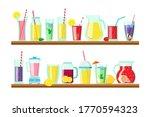 different lemonades and...   Shutterstock .eps vector #1770594323