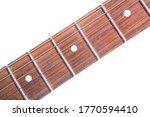 Guitar Fingerboard Close Up...