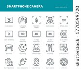 smartphone camera icons....   Shutterstock .eps vector #1770599720