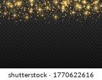 yellow dust. bokeh effect....   Shutterstock .eps vector #1770622616