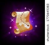pirate treasure map graphic...