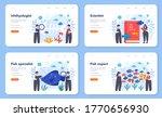 ichthyologist web banner or... | Shutterstock .eps vector #1770656930