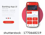 online banking mobile apps ui...