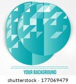 vector abstract circles...   Shutterstock .eps vector #177069479