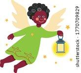 Illustration Of A Little Ange...